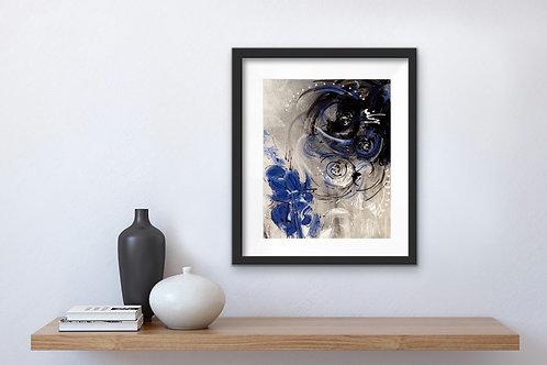 Print - Blissfully Blue