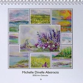 2020 Calendar Cover_MichelleDinelleAbstr