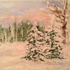 Snow Draped