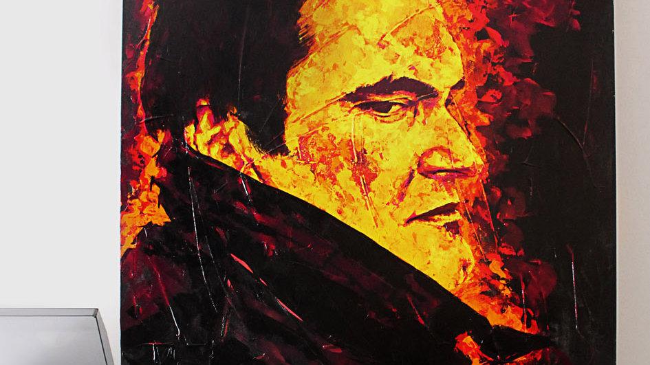 """Obra """"Fire Tarantino""""  (100x130cm)"""