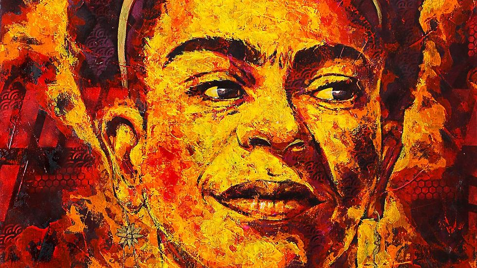 """Obra """"Frida Kahlida"""" (100x120cm)"""