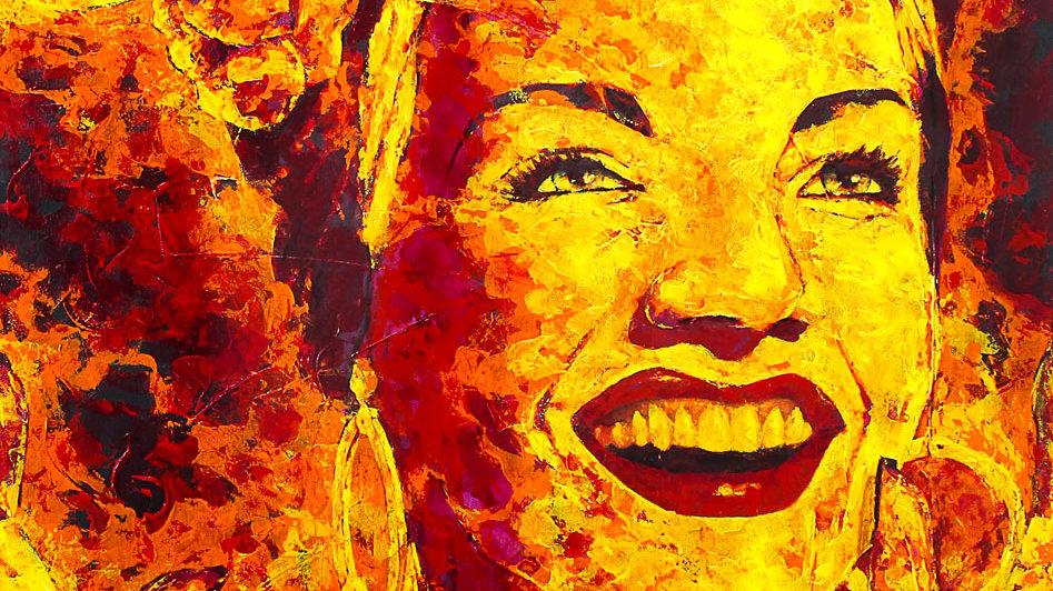 """Obra """"Carmen Mirando"""" (100x150cm)"""