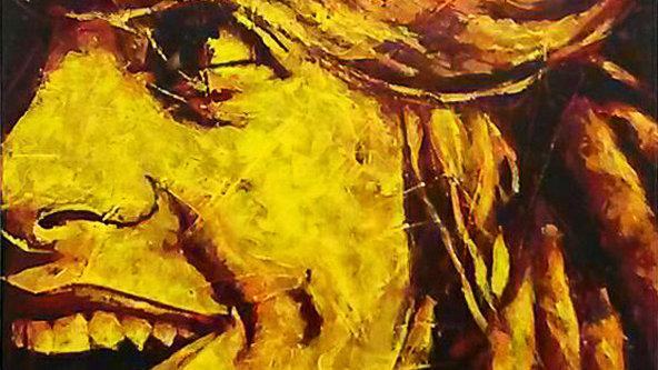 """Obra """"Nobre Felicidade""""  (100x120cm)"""
