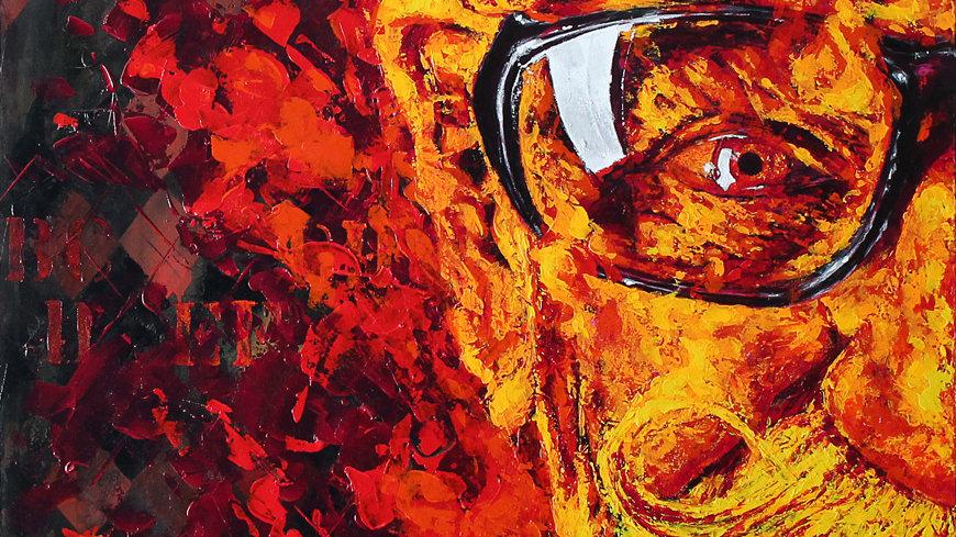 "Obra ""Untitled #1""  (100x130cm)"