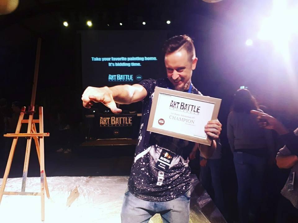 Campeão_ArtBattle_#3_Amsterdam_1