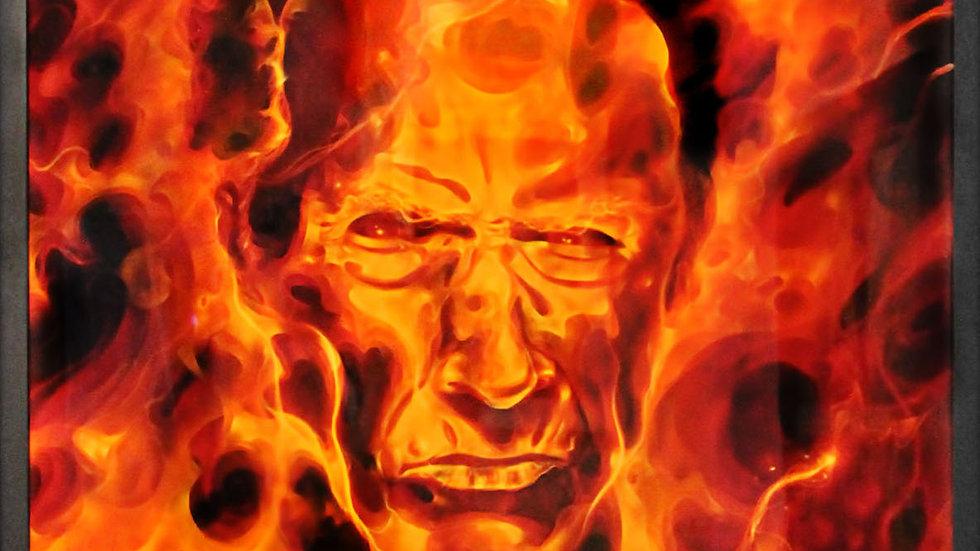 """Obra """"Fire Eastwood""""  (70x100cm)"""