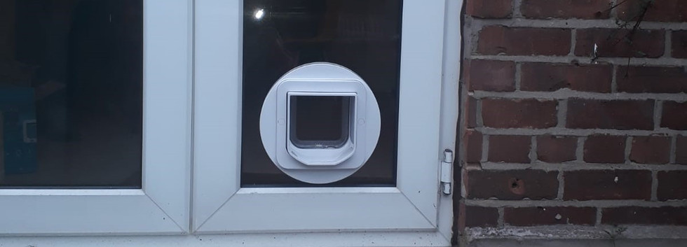 Cat Flap installed in Macclesfield
