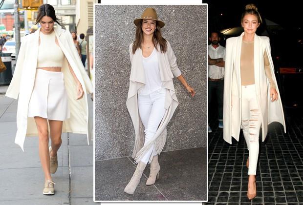 Kendall Jenner // Alessandra Ambrosio // Gigi Hadid