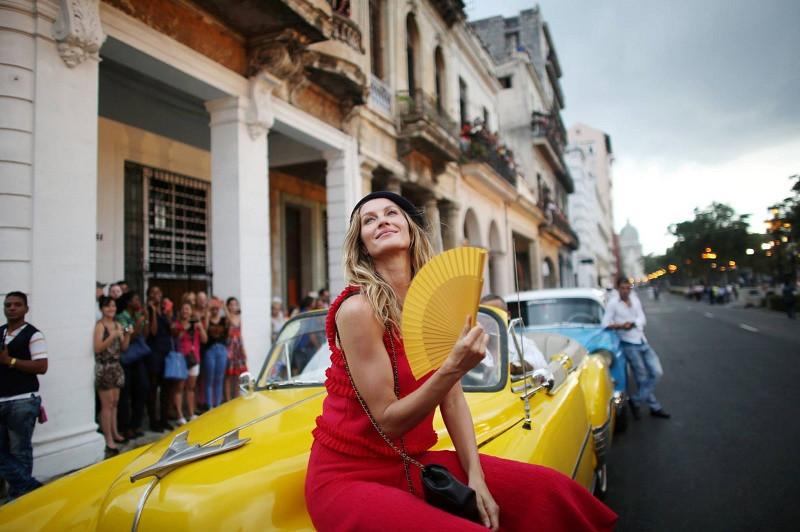 """Celebs"" no Desfile marcou Cuba."