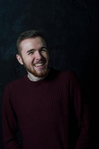Stevie Laughing Portrait