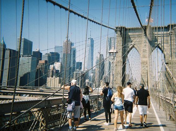 Brooklyn Bridge Walkers