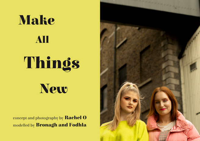 Make All Things New Page 1