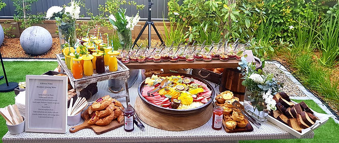 Breakfast Grazing Table