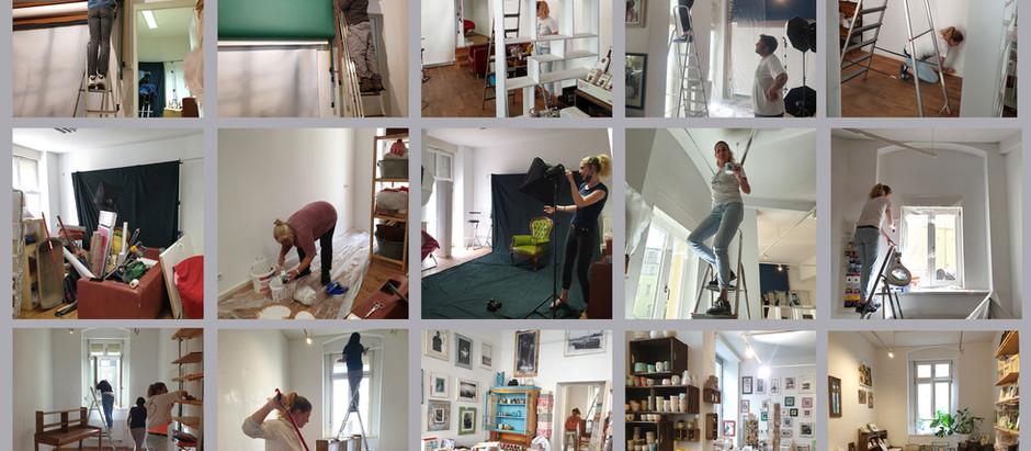 Renovierung unseres Fotoladen