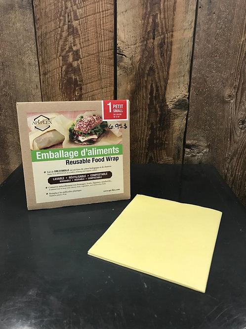 Emballage en cire d'abeille petit - Api-flex