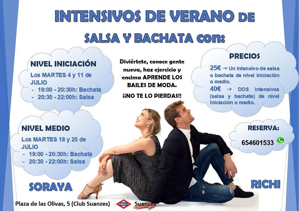 SALSA Y BACHATA ESCUELS BAILES LATINOS