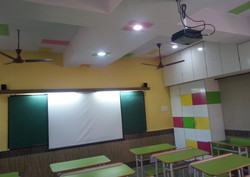 Classrooms with A/V facilities