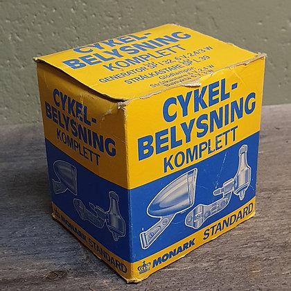 Monark sykkel belysning NOS New old stock