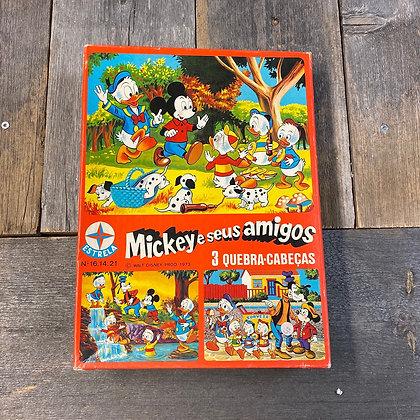 Mikke Mus puslespill spansk Mikke og vennene amigos