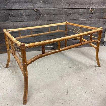 Vintage bambus sofabord