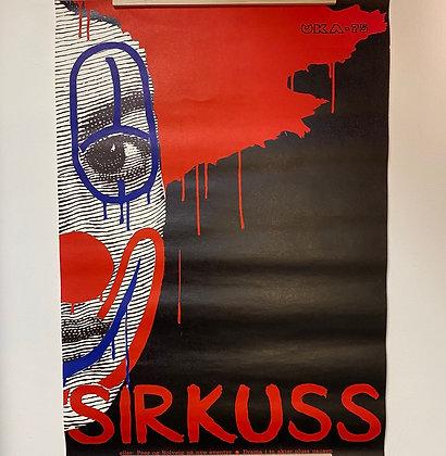 Sirkuss uka 75 plakat