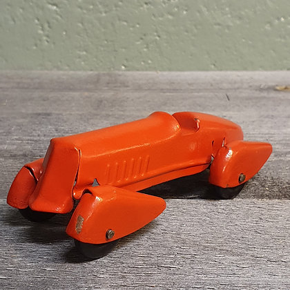 Vintage toy car red All Metal Products Company Wyandotte