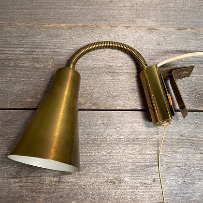 RTH vegglampe messing norsk