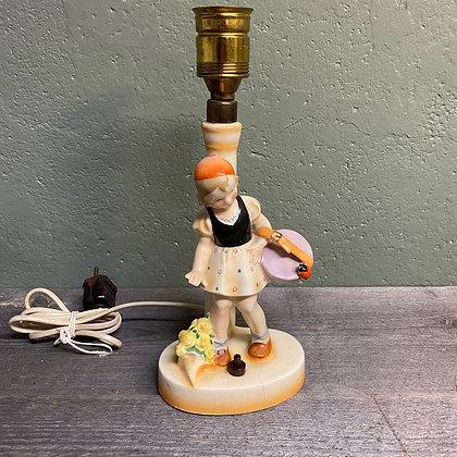 Gammel keramikklampe R-Heiz Co