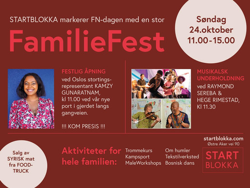Familefest/åpent showroom 24.10