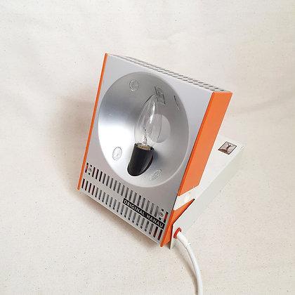 Redesignet høyfjellssol bordlampe