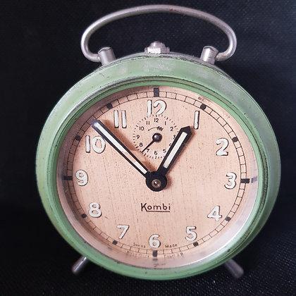 Kombi vekkerklokke grønn