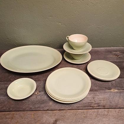 Figgjo Sissel Grimsrud Grønn Mintgrønn fat tallerken skål kopp