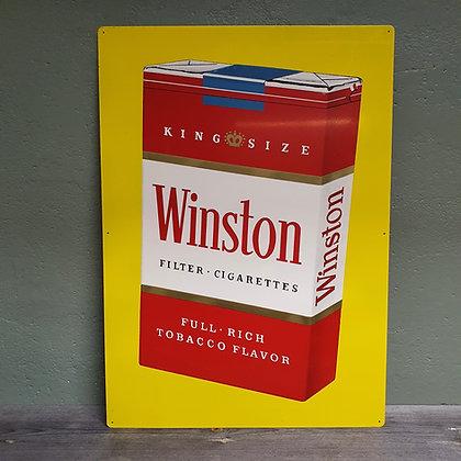 Winston cigarettes reklame skilt
