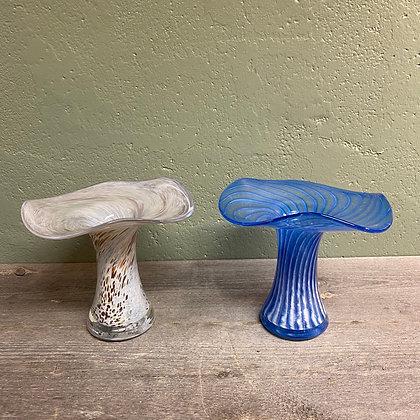 Bukettformet glassvase - Hadeland