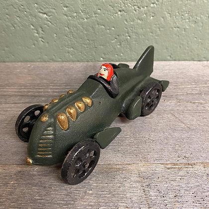 Vintage støpejernsbil