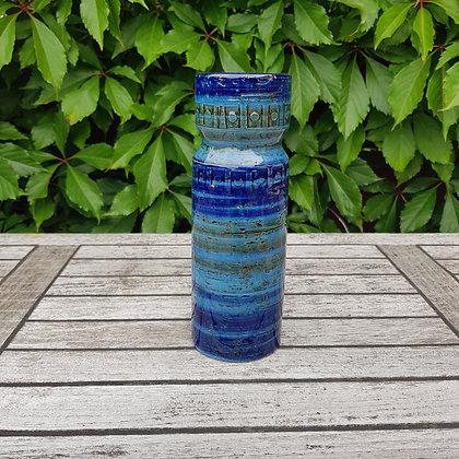 Keramikkvase Arnold Wiigs fabrikker blå