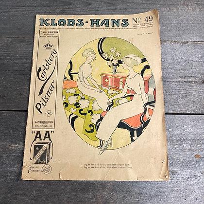 Gammelt blad: Klods-Hans mfl.