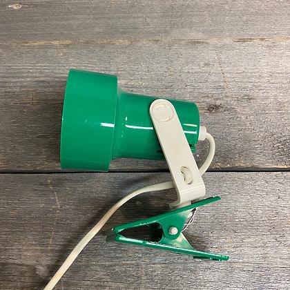 Grønn klypelampe