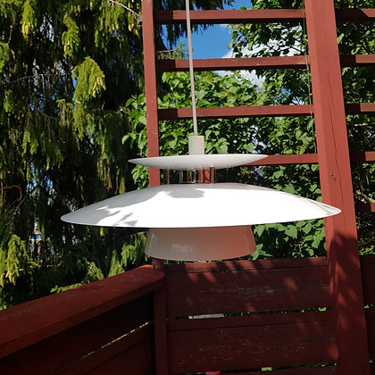 Svensk designer taklampe hvit