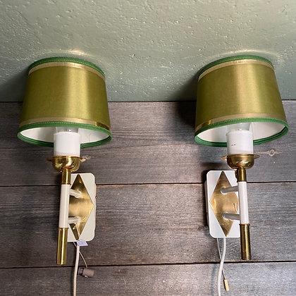 Ragla belysning et par vegglamper