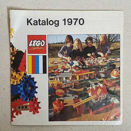 Lego katalog 1970