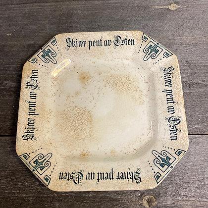 Skjær pent av osten