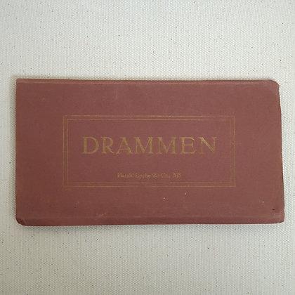 postkortsamling fra Drammen Norge