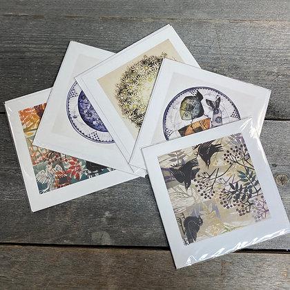 Sveinbjørg kort 15,5 x 15,5 cm