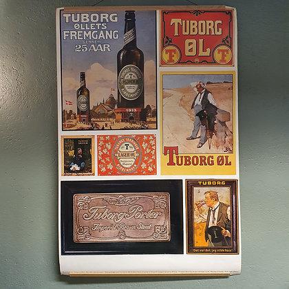 Tuborg jubileumsplakat 100 år 1975