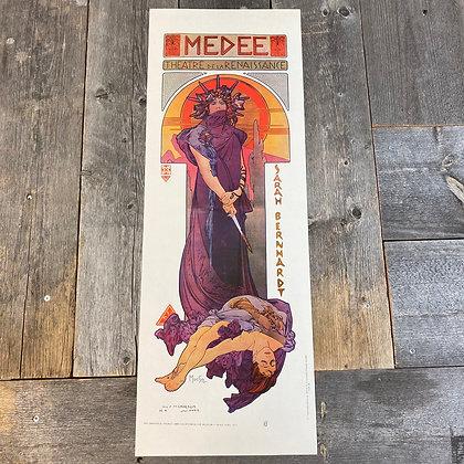 Art Nouveau Medee plakat