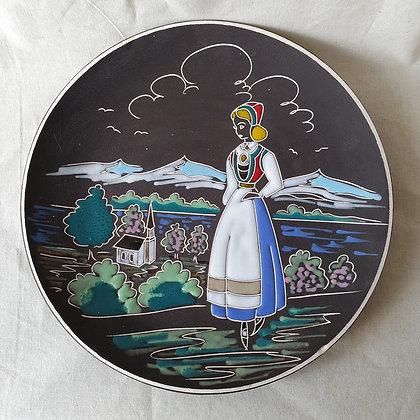 Keramikk Fat Arnold Wiig fabrikker Narvik Hardanger