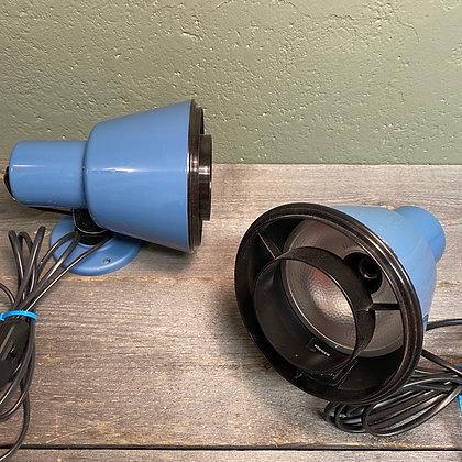Blå elenco vegglamper plast