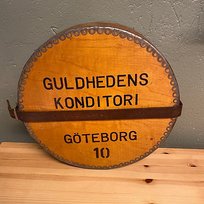 Guldhedens konditori kasse Gøteborg