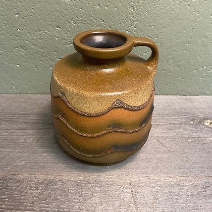 Brun keramikkvase tysk
